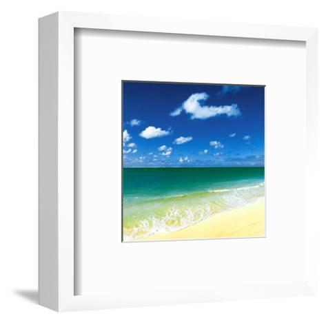 Tropical Horizons III-Adam Brock?-Framed Art Print