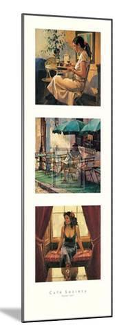 Cafe Society II-Raymond Leech-Mounted Art Print