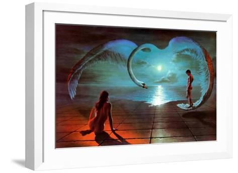 Wings of Love-S^ Pearson-Framed Art Print