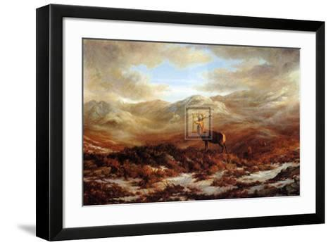 Valley of the Stags-Elizabeth Halstead-Framed Art Print