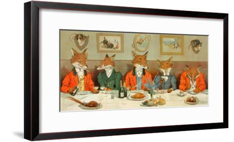Mr. Fox's Hunt Breakfast-H Neilson-Framed Art Print