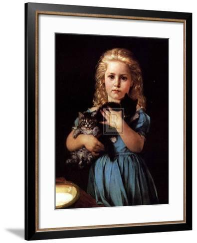 An Armful of Mischief-Christine Amyot-Framed Art Print