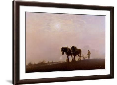 Breath of Toil-J^ Young-Framed Art Print