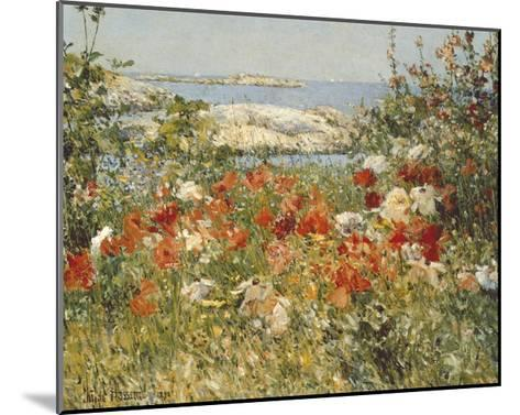 Ocean View-Childe Hassam-Mounted Art Print