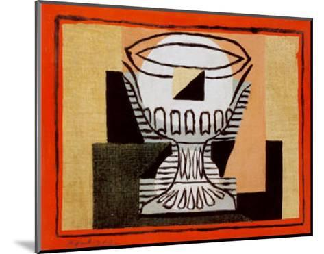 The Vase-Pablo Picasso-Mounted Art Print