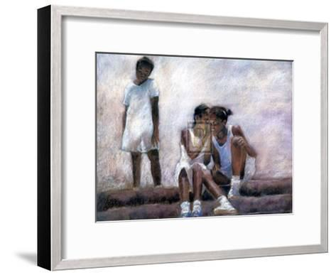 Secrets-S^ Wilson-Framed Art Print