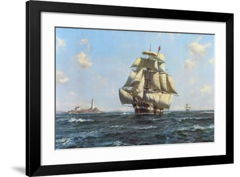 Mckay Clipper, Anglo-American-Roy Cross-Framed Art Print