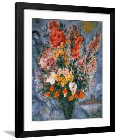 Bouquet de Fleurs-Marc Chagall-Framed Art Print