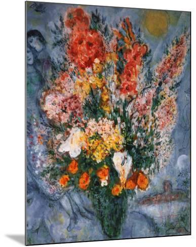 Bouquet de Fleurs-Marc Chagall-Mounted Art Print
