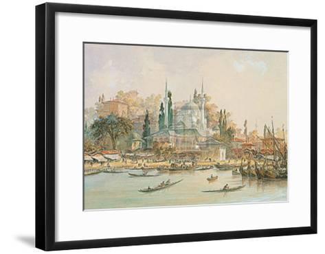 Scutari-Eugene Napoleon Flandin-Framed Art Print