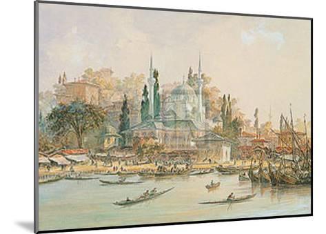 Scutari-Eugene Napoleon Flandin-Mounted Art Print