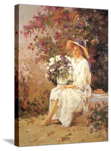 Admiration-R^ Frances-Stretched Canvas Print