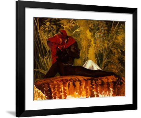 The Head Tie-Boscoe Holder-Framed Art Print