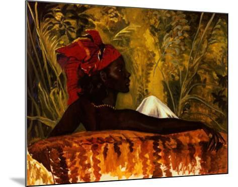 The Head Tie-Boscoe Holder-Mounted Art Print