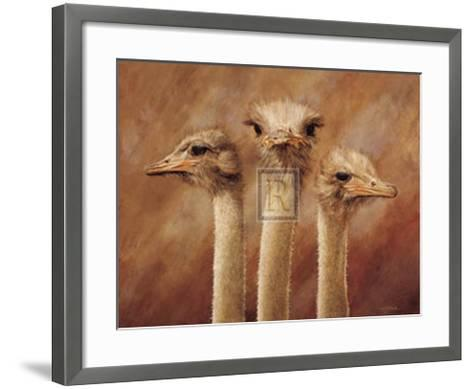 Three's a Crowd-H^ Van Zanten-Framed Art Print