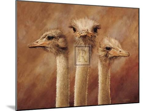 Three's a Crowd-H^ Van Zanten-Mounted Art Print