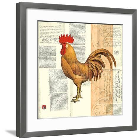 Poulet de Champagne II-Pierre Lapin-Framed Art Print