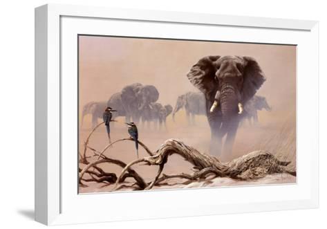 Away from the Herd-Spencer Hodge-Framed Art Print