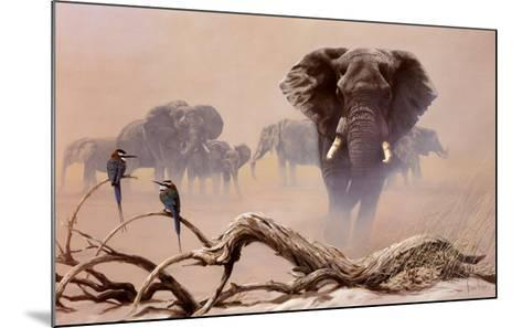 Away from the Herd-Spencer Hodge-Mounted Art Print