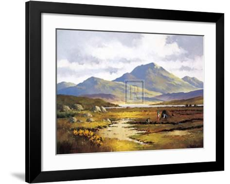 Turf Cutting-D^ Todd-Framed Art Print