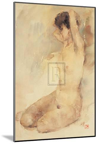 Bathing-L^ Yajun-Mounted Art Print