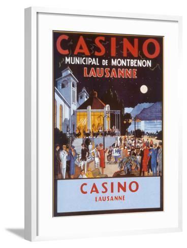 Casino-Jacomo-Framed Art Print