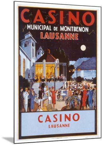Casino-Jacomo-Mounted Art Print