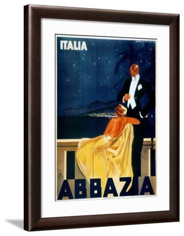 Abbazia-W^ Zalina-Framed Art Print