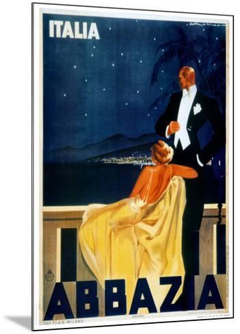 Abbazia-W^ Zalina-Mounted Art Print