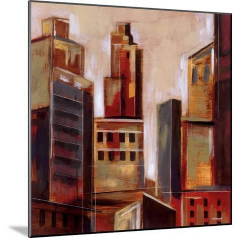 High Rise I-Giovanni-Mounted Art Print