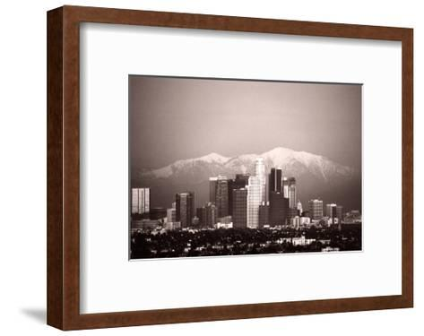 Los Angeles--Framed Art Print