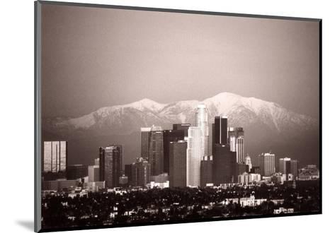 Los Angeles--Mounted Art Print