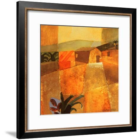 Little Palm Trees-K^ H^ Grob-Framed Art Print