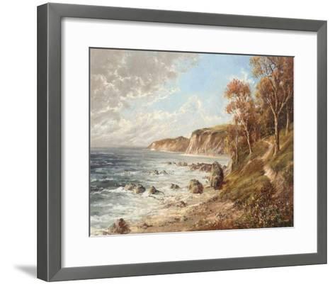 Kuste Bei Gdynia-H^ Buchner-Framed Art Print
