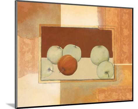 The Red Apple-Heinz Hock-Mounted Art Print