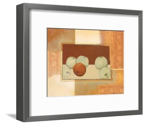 The Red Apple-Heinz Hock-Framed Art Print