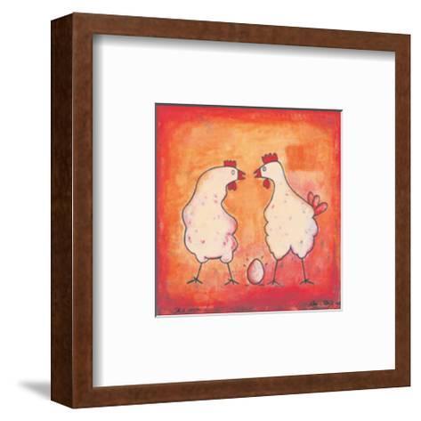 It's Mine-Ans Van Dijk-Framed Art Print