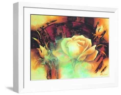 La Vie en Rose I-Betty Jansma-Framed Art Print
