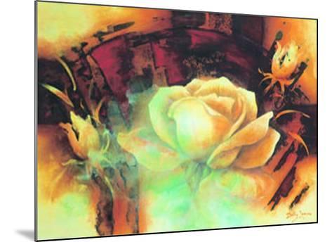 La Vie en Rose I-Betty Jansma-Mounted Art Print