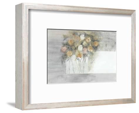 Flowery II-Magda Stoop-Framed Art Print