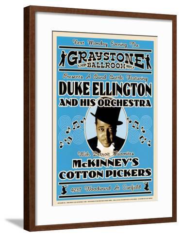 Duke Ellington and His Orchestra at the Graystone Ballroom, New York City, 1933-Dennis Loren-Framed Art Print