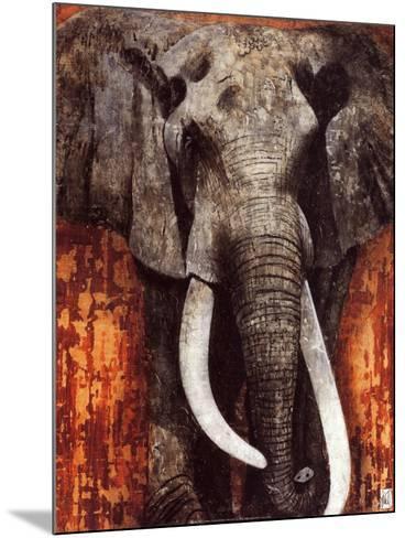 Elephant-Fabienne Arietti-Mounted Art Print