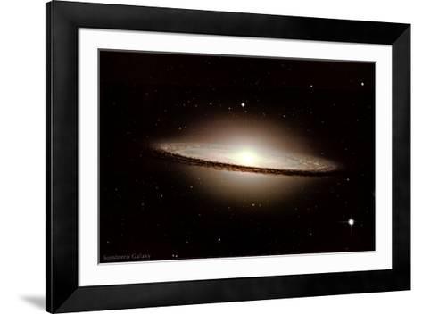 Sombrero Galaxy - ©Spaceshots--Framed Art Print