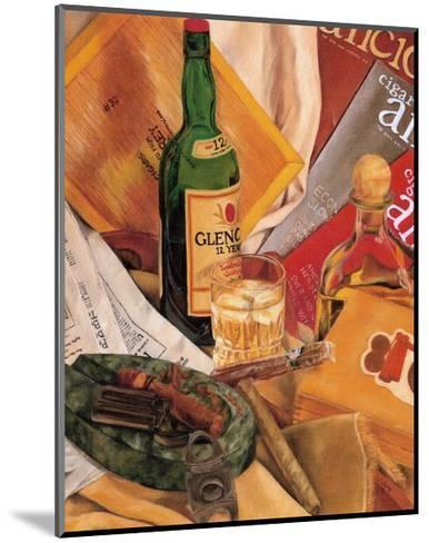 Jennifer's Scotch Indulgences I-Jennifer Goldberger-Mounted Art Print