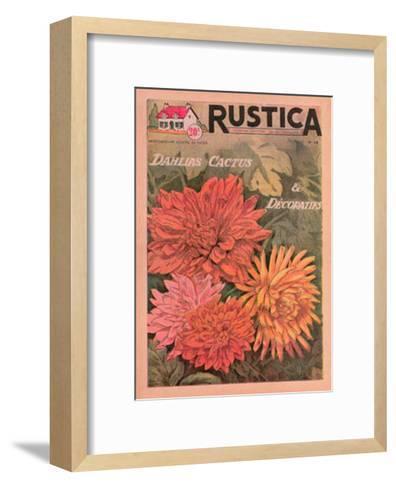 Plantez des Decoratifs--Framed Art Print