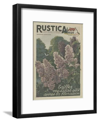 Plantez des Lilacs--Framed Art Print