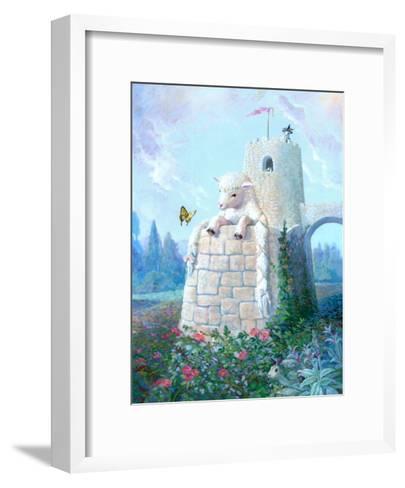 Rapunzel Lamb-Dot Bunn-Framed Art Print