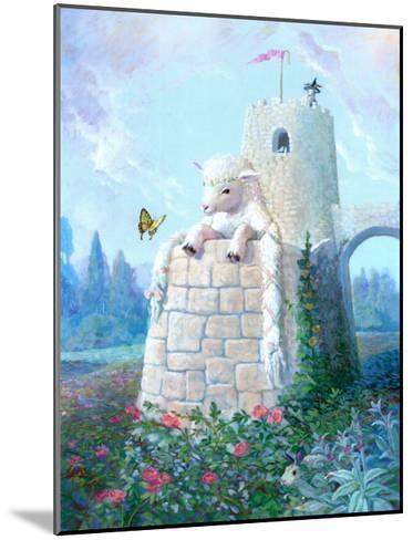 Rapunzel Lamb-Dot Bunn-Mounted Art Print