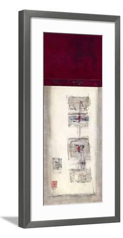 Mauro Tranquility Panel I-Mauro-Framed Art Print