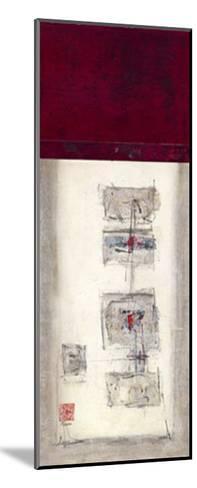 Mauro Tranquility Panel I-Mauro-Mounted Giclee Print